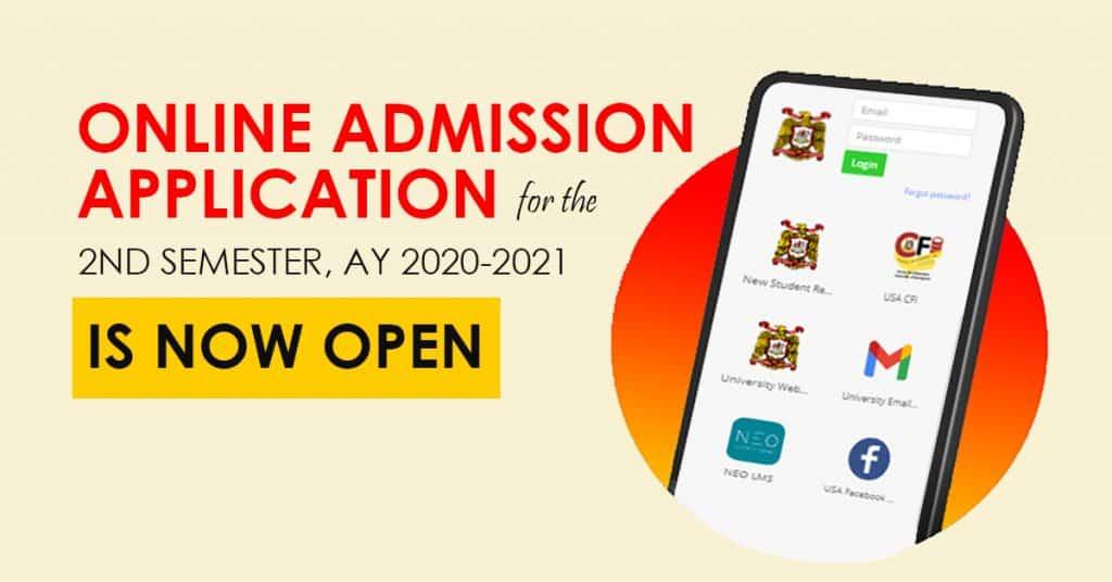 Online Admission Application - University