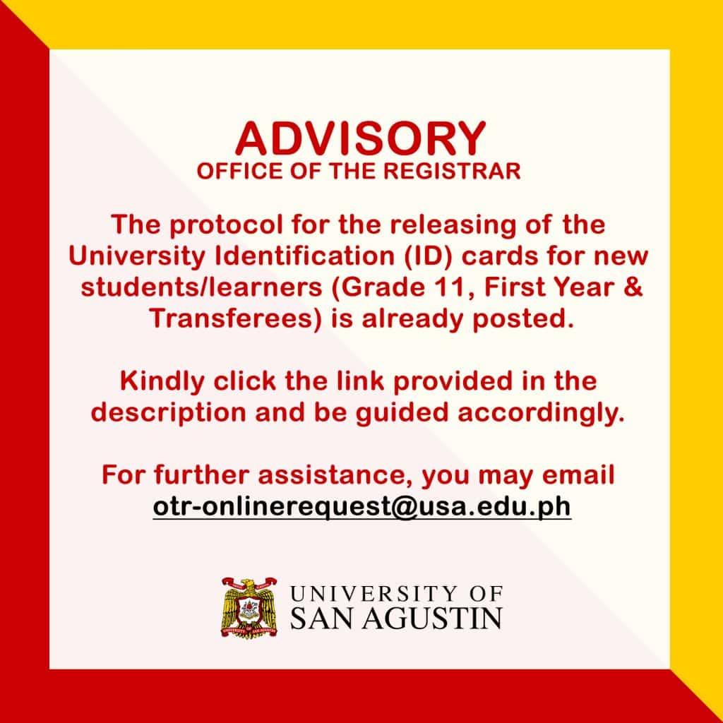 Releasing of ID Advisory