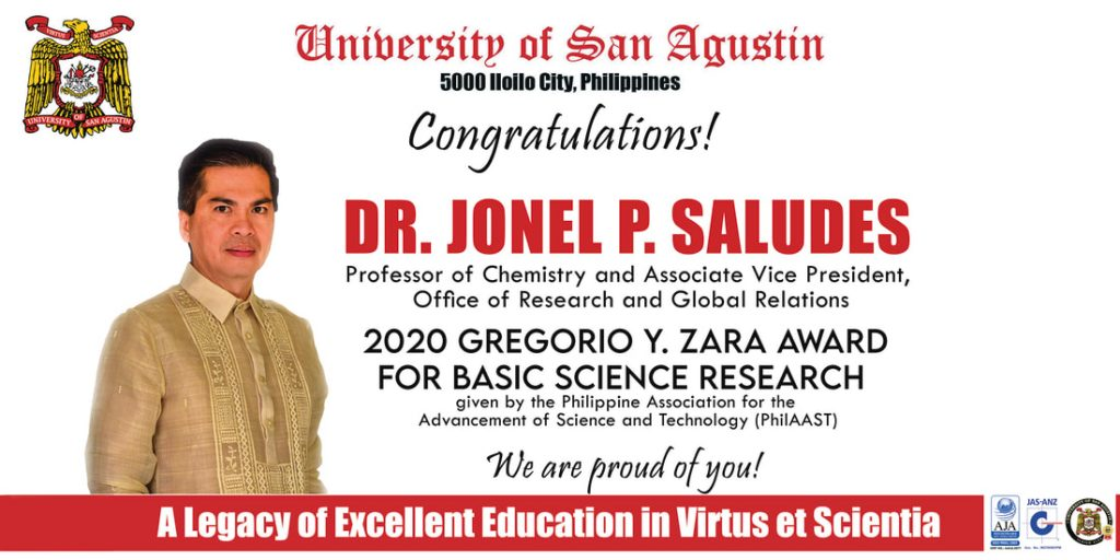 University of San Agustin_Dr Saludes