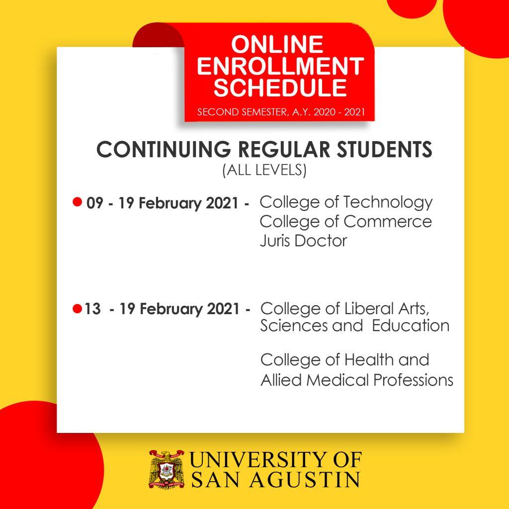 Enrollment-Schedule-Regular