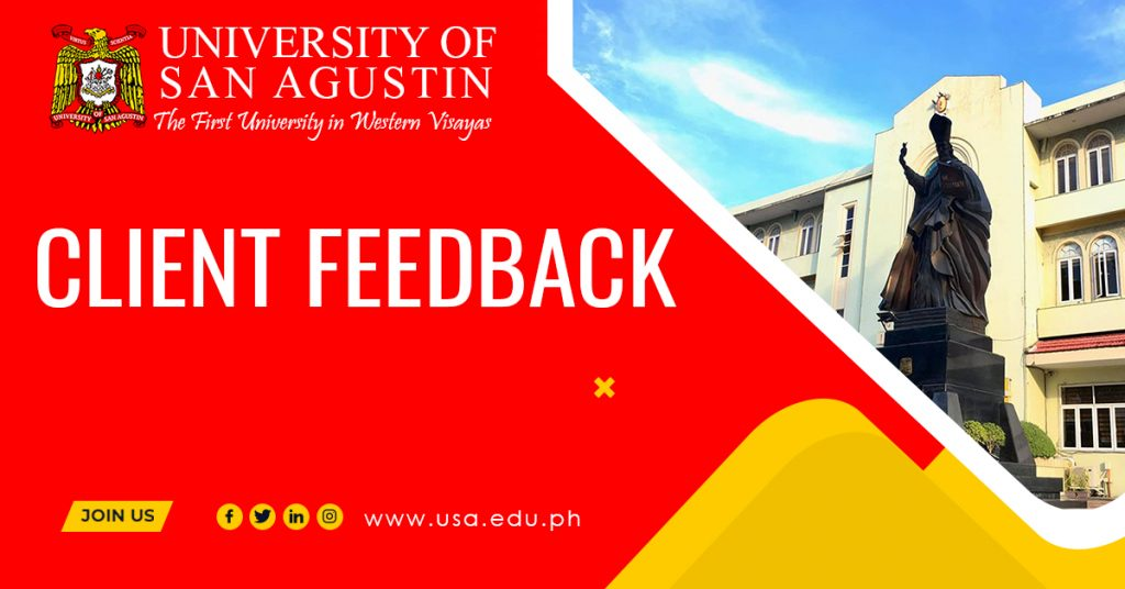 Featured Image_Client Feedback_University of San Agustin