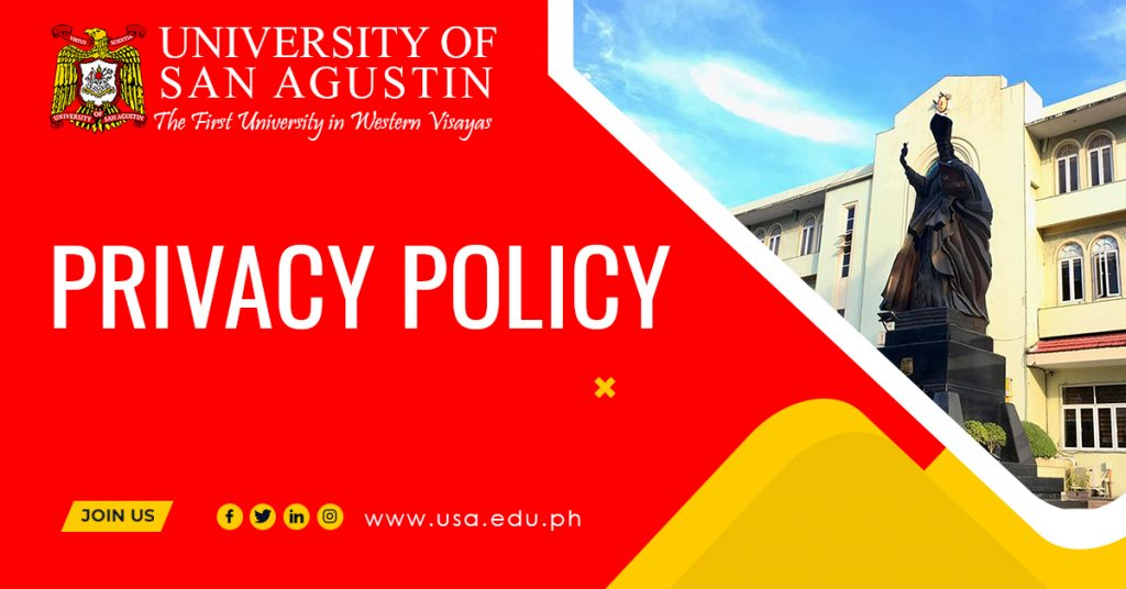 Featured Image_Privacy Policy_University of San Agustin
